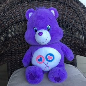 Care Bears Purple Share Bear